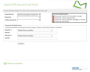Using Sophos SPX Encrypt in Email – ArchOIT org